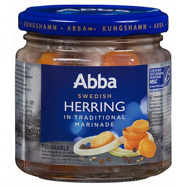 Abba Seafood Herring in Traditional Marinade 240g