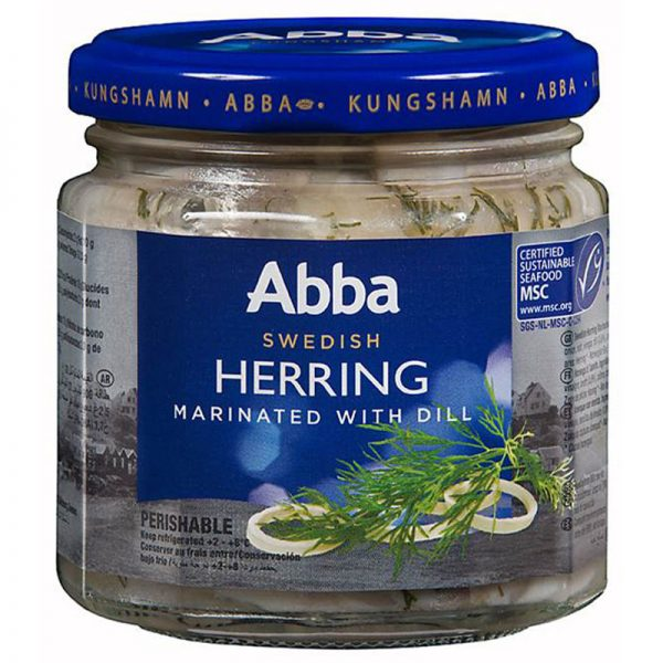 Abba Seafood Herring in Dill 240g
