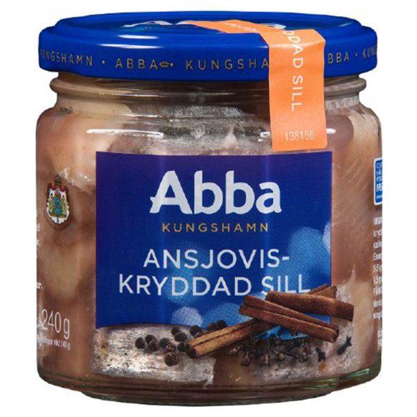 Arenque Marinado com Especiarias Abba Seafood 240g