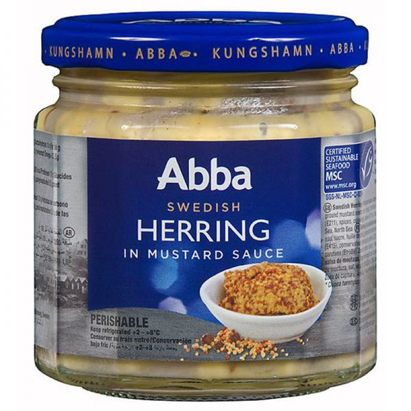 Abba Seafood Herring with Mustard Sauce 230g