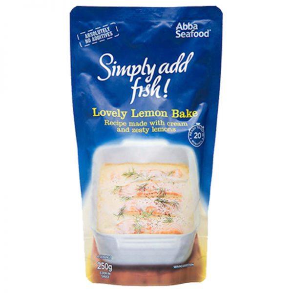 Molho de Limão para Peixe Abba Seafood 250g