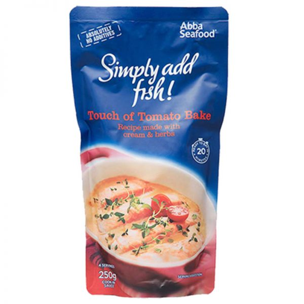 Abba Seafood Simply Add Fish Touch of Tomato Bake 250g