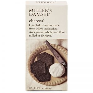 Artisan Biscuits Millers Damsel Charcoal Crackers 125g