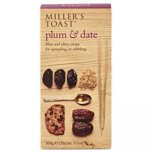 Artisan Biscuits Millers Toast with Plum and Date 100g