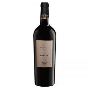 Vinho Tinto Sasseo Primitivo Salento IGT Masseria Altemura 750ml