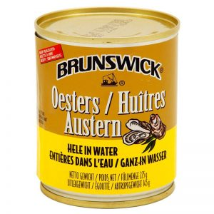 Brunswick Oyster in Water 225g