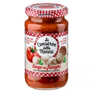 Molho de Tomate com Cogumelos Le Conserve della Nonna 190g