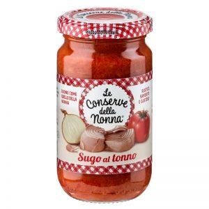 Molho de Tomate com Atum Le Conserve della Nonna 190g