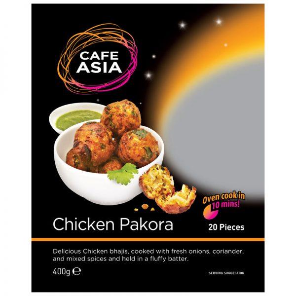 Cafe Asia Chicken Pakora 400g