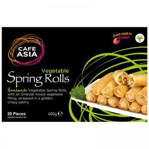 Mini Rolos Primavera Vegetais Cafe Asia 400g