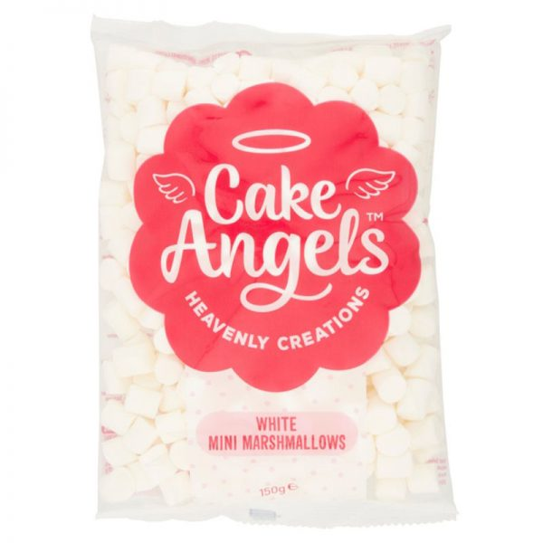 Cake Angels Pink and White Mini Marshmallows  150g