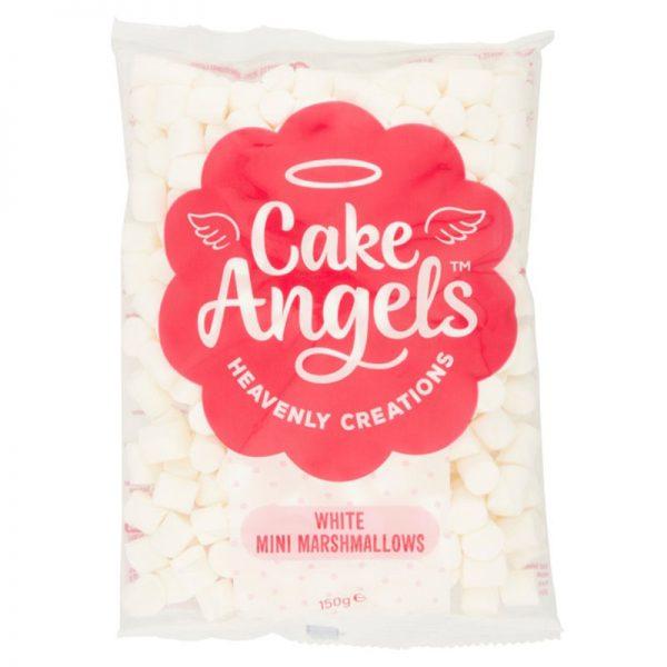 Mini Marshmallows Brancos e Rosas Cake Angels 150g