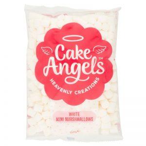 Cake Angels White Mini Marshmallows  150g