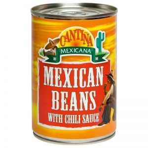Cantina Mexicana Mexican Beans with chili Sauce 410g