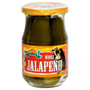 Pimentos Jalapeño Verdes Inteiros Cantina Mexicana 190g