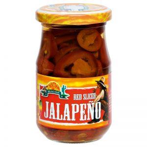 Pimentos Jalapeño Vermelhos Fatiados Cantina Mexicana 190g