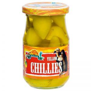 "Pimentos Amarelos ""Yellow Chillies"" Cantina Mexicana 190g"