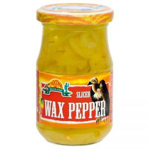 "Pimentos ""Wax Pepper"" Fatiados Cantina Mexicana 190g"