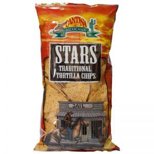 Cantina Mexicana Stars Traditional Tortilla Chips 200g