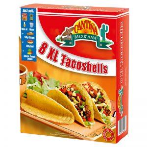 Conchas XL para Tacos (8un) Cantina Mexicana 150g