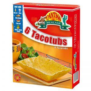 CM Tacotubs para Tacos (6un) Cantina Mexicana 125g