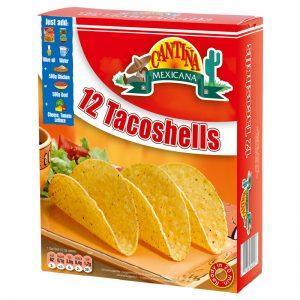 Conchas para Tacos (12un) Cantina Mexicana 150g