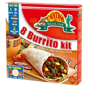Kit Burritos 8 (un) Cantina Mexicana 500g