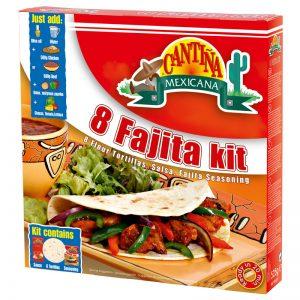 Kit Fajitas (8 un) Cantina Mexicana 475g