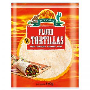 Cantina Mexicana 8 Flour Tortillas 340g