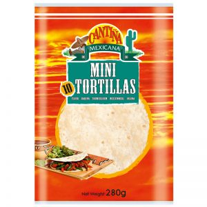 Cantina Mexicana 10 Mini Tortillas 280g