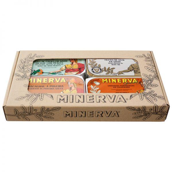 Conjunto de Conservas Petiscada Luxo Minerva 480g