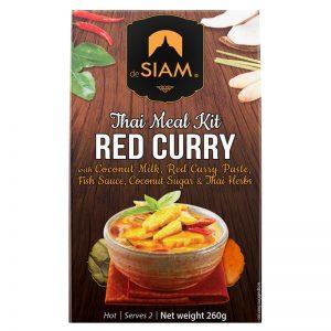 Kit Thai de Caril Vermelho deSIAM 260g