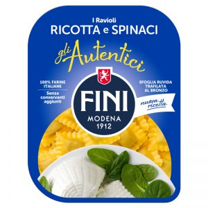 Fini Ravioli with Ricotta and Spinach 250g