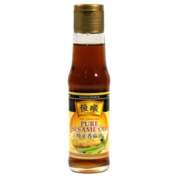 Óleo de Sésamo Puro Heng Shun 150ml