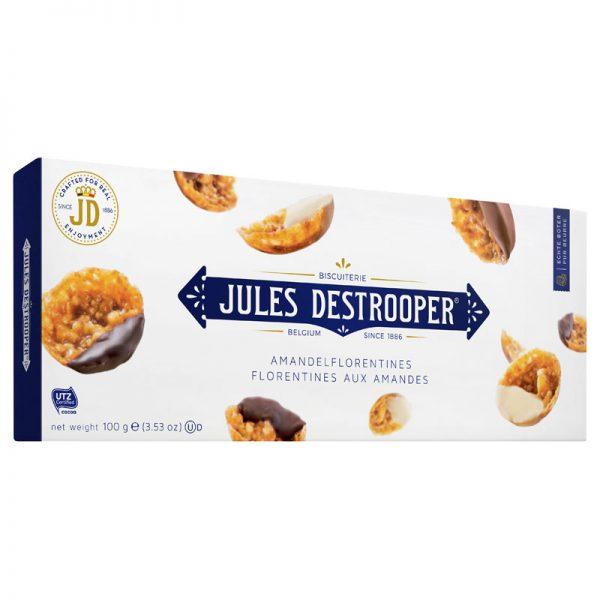 Florentines de Amêndoa Jules Destrooper 100g