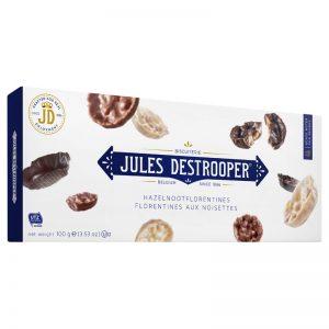 Florentines de Avelã Jules Destrooper 100g