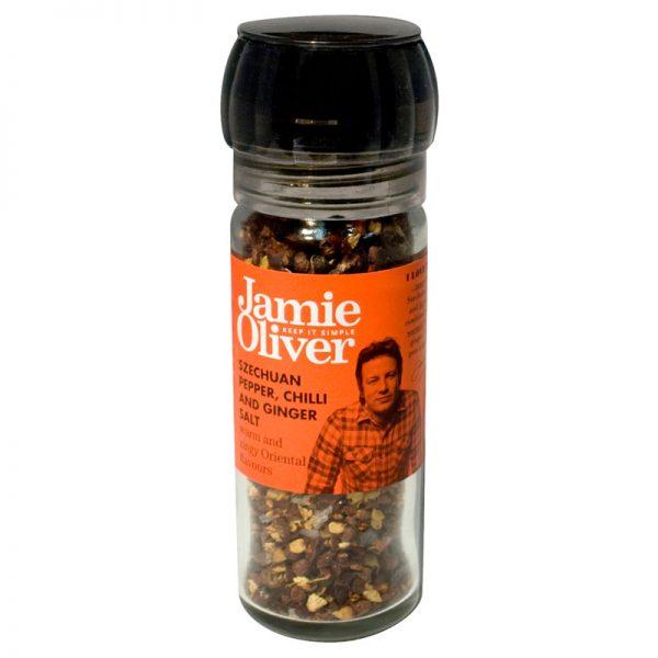 Moinho de Pimenta de Sichuan Chilli Sal e Gengibre Jamie Oliver 35g