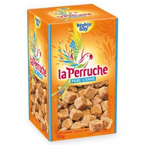 La Perruche Brown Cane Sugar Irregular Cubes 750g