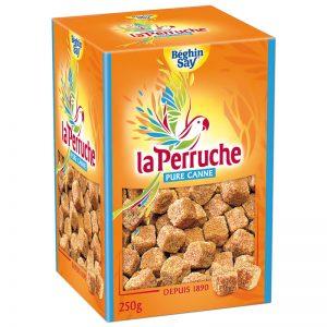 La Perruche Brown Cane Sugar Irregular Cubes 250g