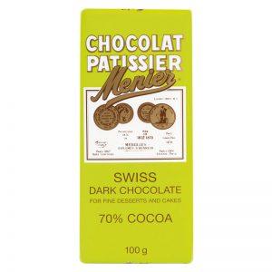 Chocolate Preto para Culinária Menier 100g
