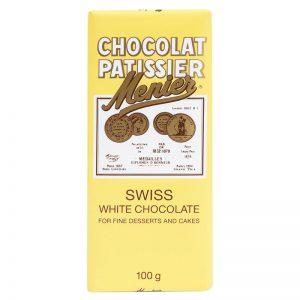 Chocolate Branco para Culinária Menier 100g