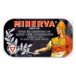 Ovas de Sardinha em Azeite com Condimentos Minerva 120g