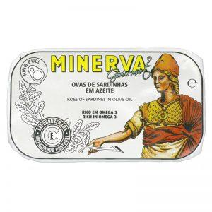 Ovas de Sardinha em Azeite Minerva 50g