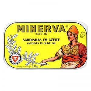 Sardinhas em Azeite Minerva 120g