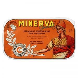 Sardinhas em Caldeirada Minerva 120g