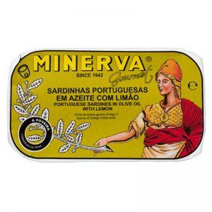 Sardinhas em Azeite com Limão Minerva 120g