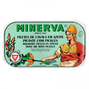 Filetes de Cavala em Azeite com Picles Minerva 120g