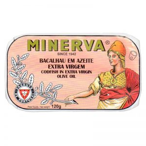 Minerva Codfish in Extra Virgin Olive Oil 120g