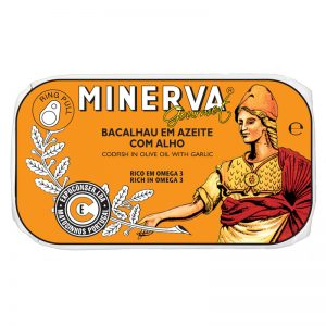 Minerva Codfish with Olive Oil and Garlic 120g
