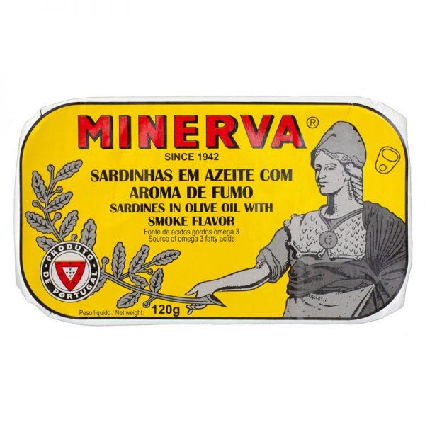 Sardinhas Fumadas em Azeite Minerva 120g